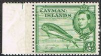 Cayman Islands SG116 1938 Definitive ½d unmounted mint